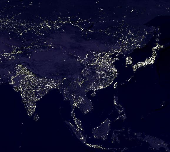 Ázsia fényei