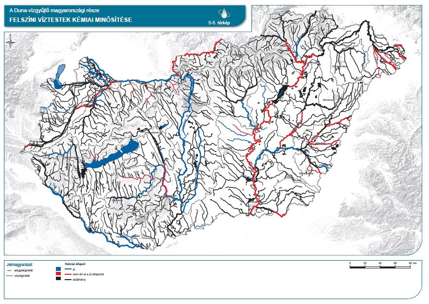 Felszíni víztestek kémiai minősítése
