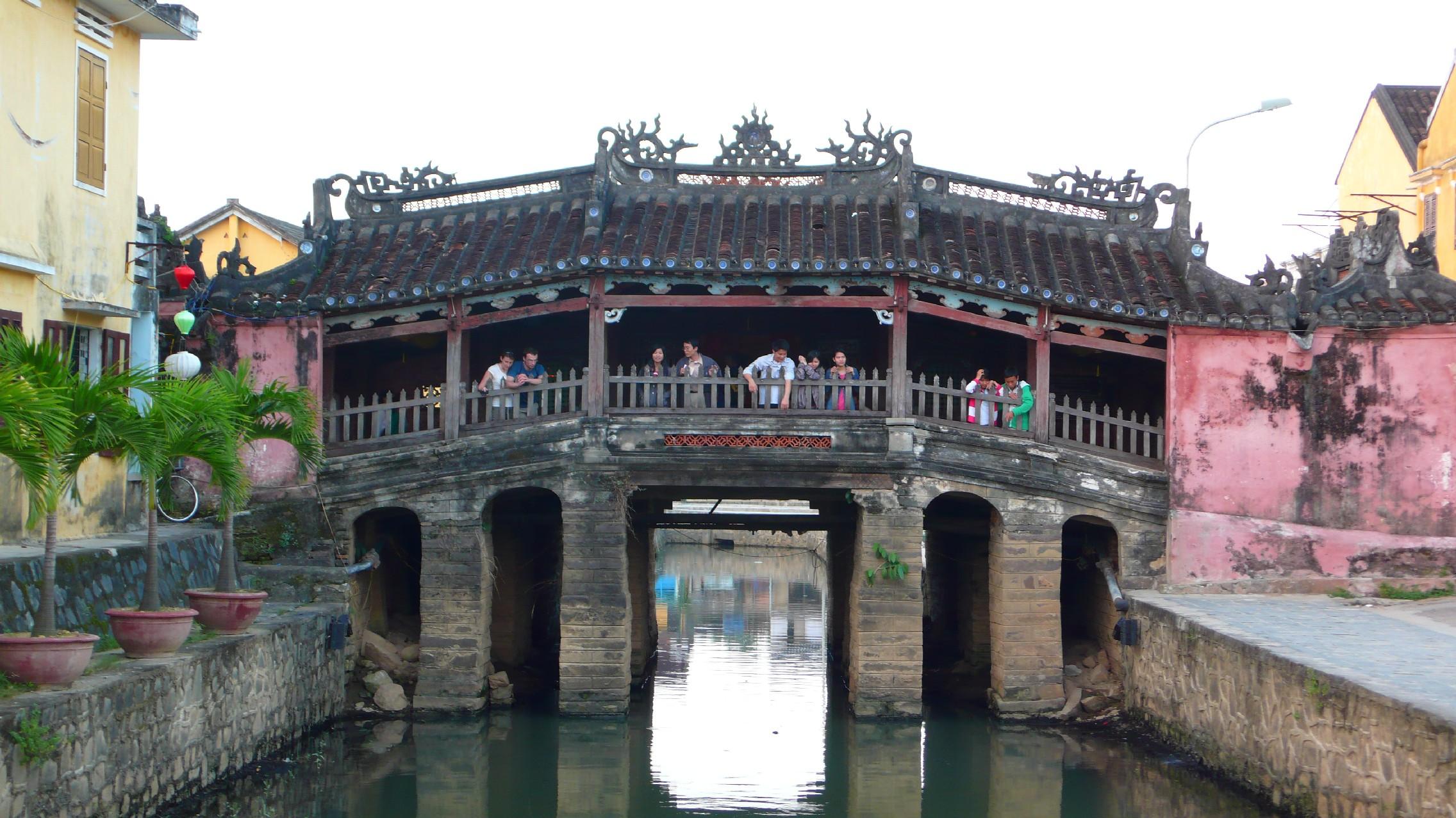 Hoi An fedett hídja