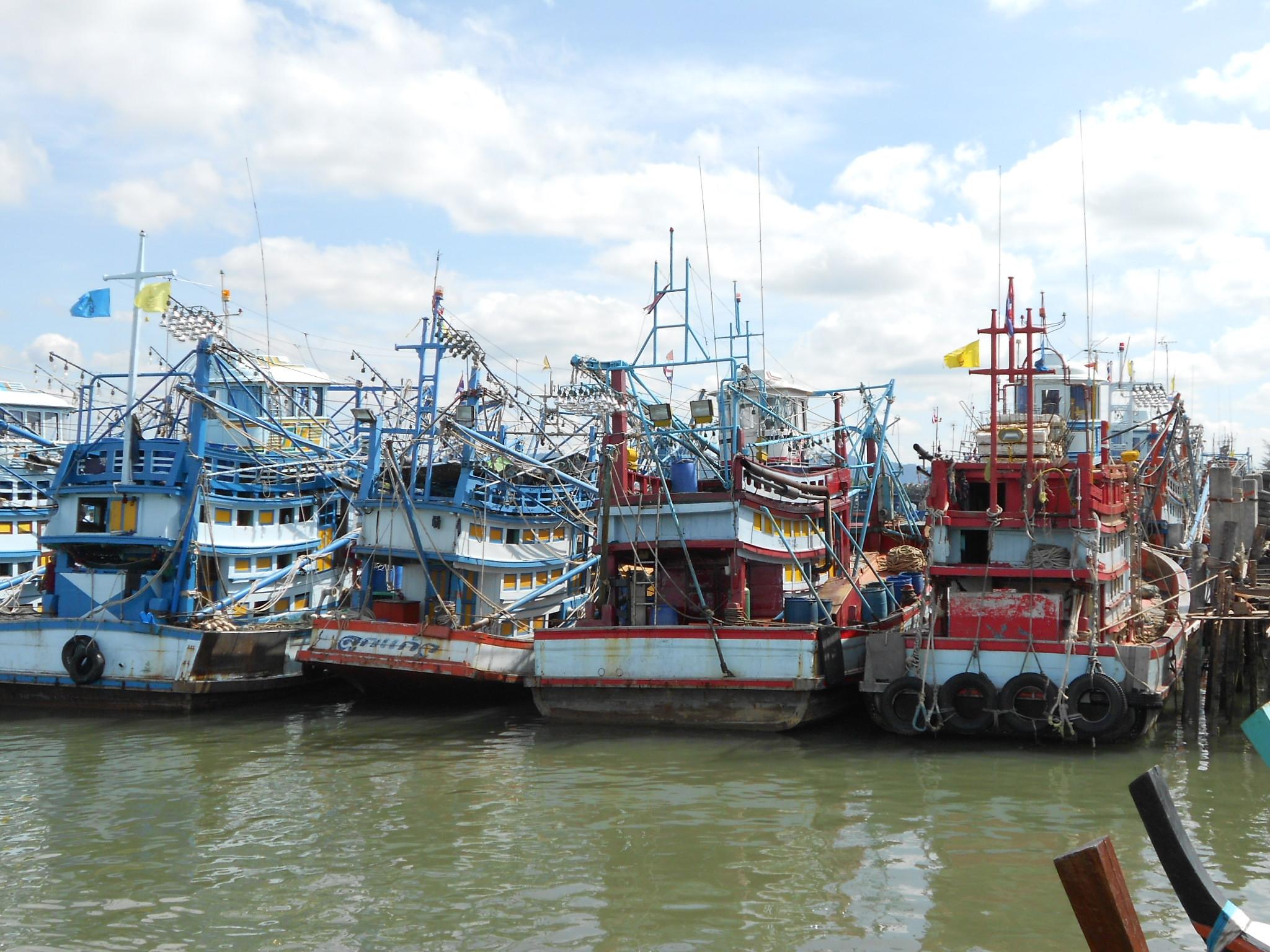 Boats of Pak Barrában