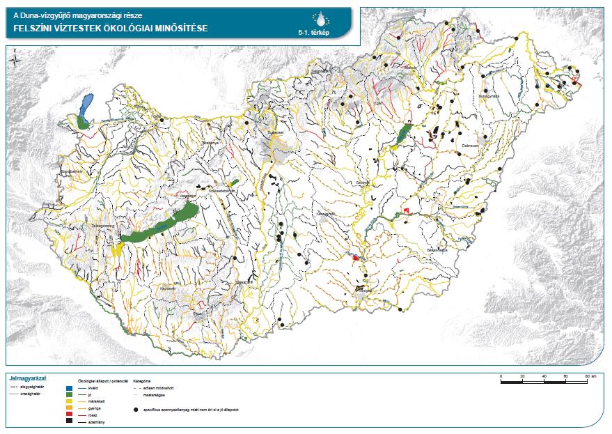 Felszíni víztestek ökológiai minősítése