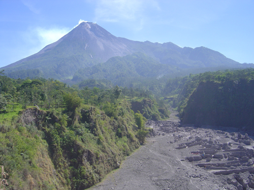 Merapi vulkán