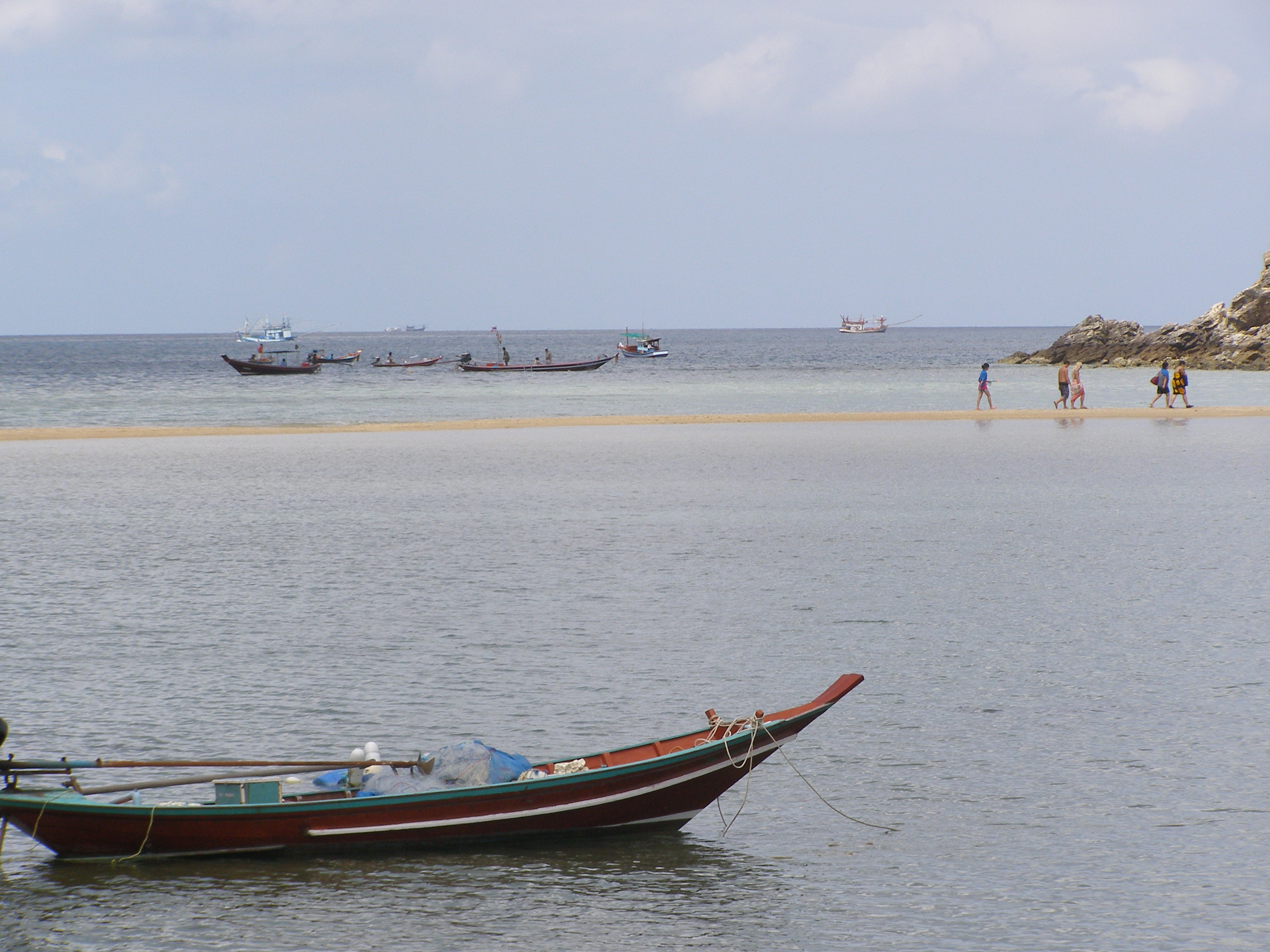 Koh Ma and the sand strip