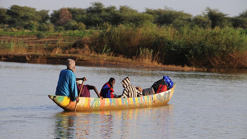 Afrikai evezős csónak
