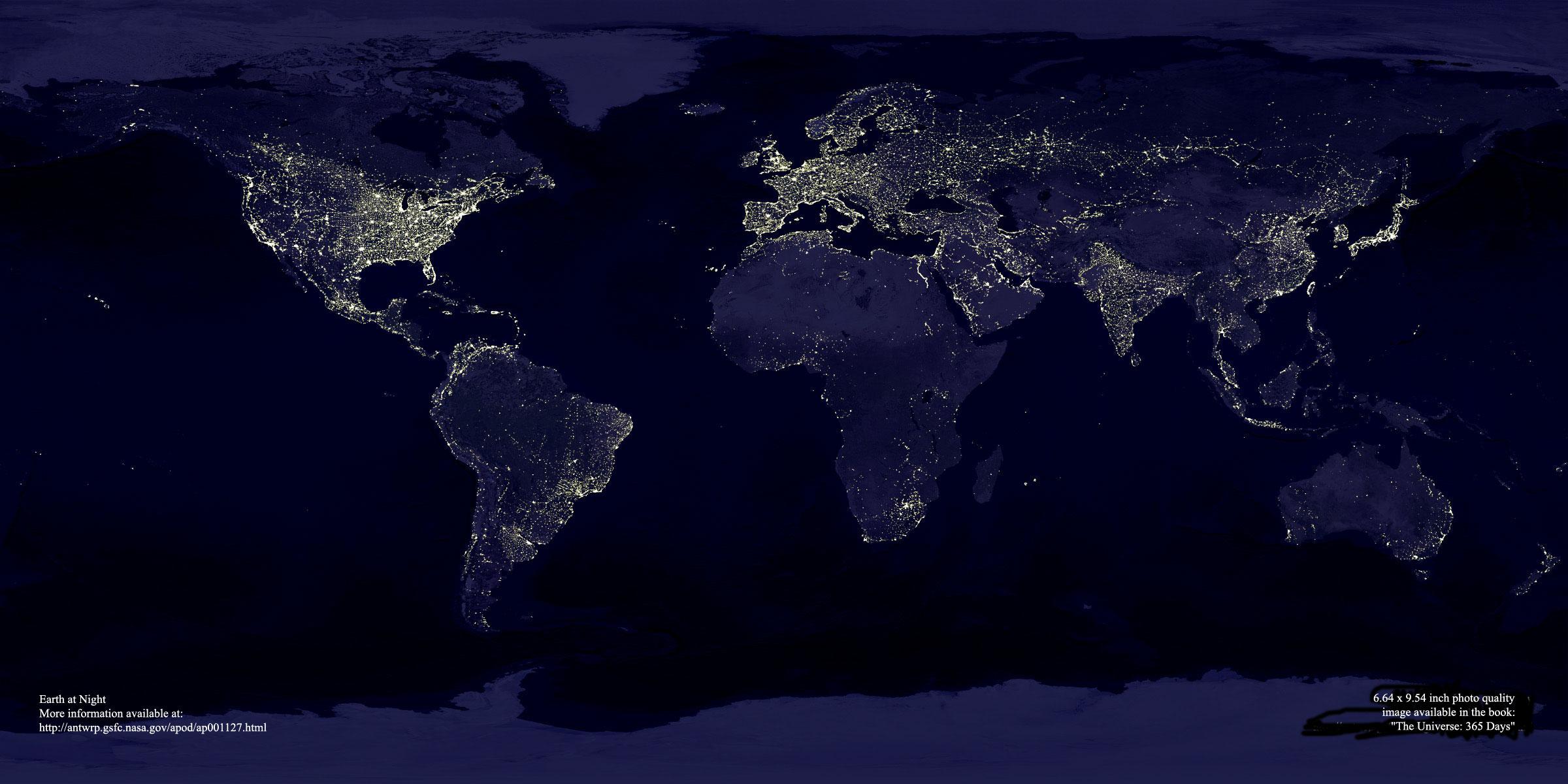 Föld fényei