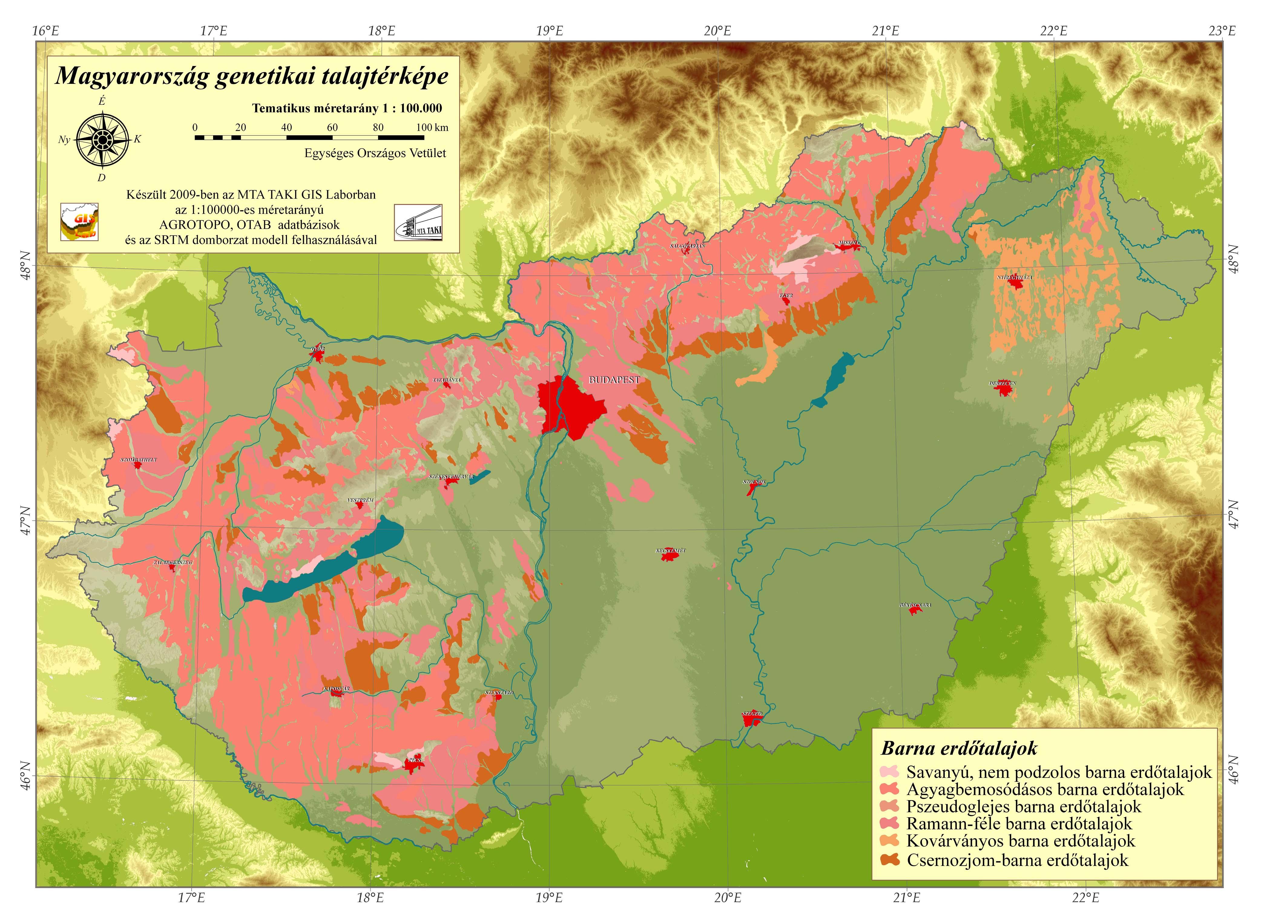 barna erdőtalajok