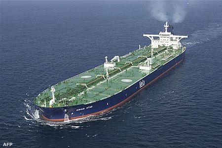 Olajszállító tanker