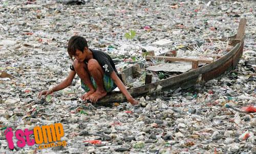 Szennyezett folyók mellett élők
