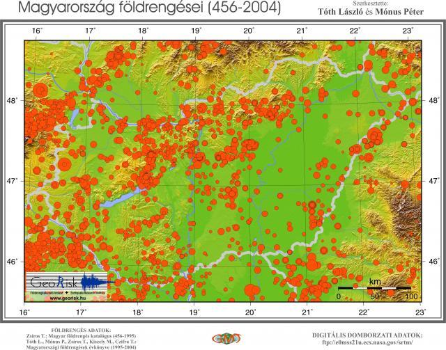 Magyarország földrengései