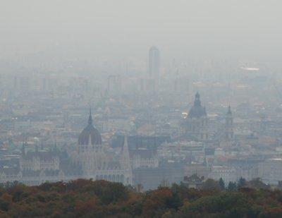 Smog in Budapest